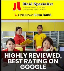 JL recruitment maid agency in singapore