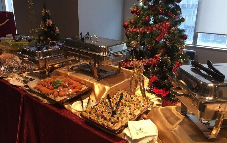 Kates Catering Christmas Party